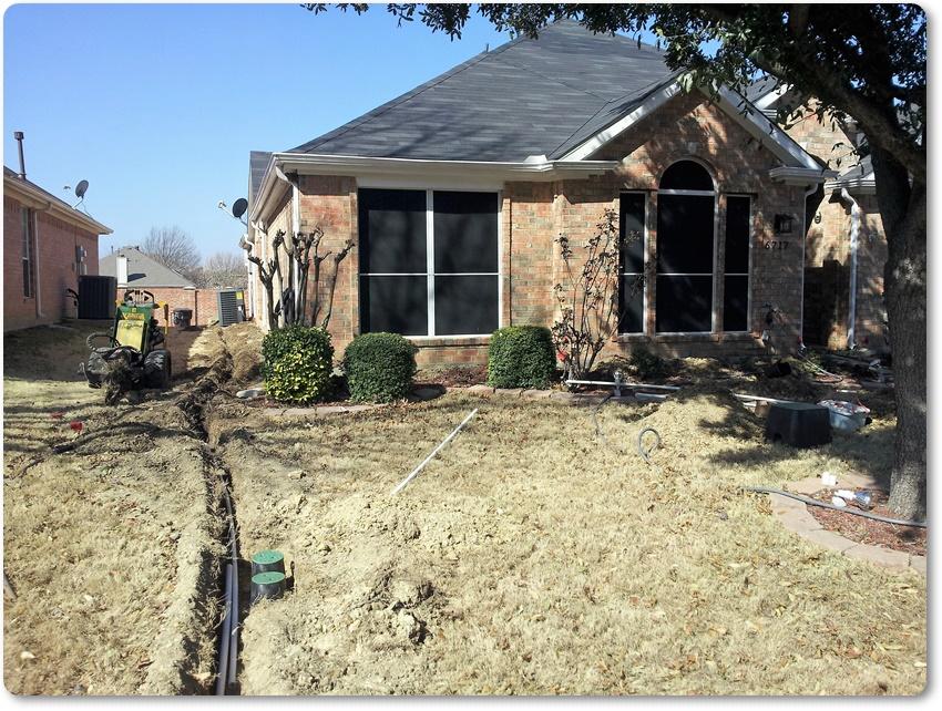 Santos Landscaping, Sprinklers, Irrigation Irving TX, (214) 878-8608